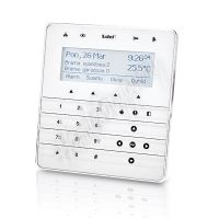 Satel INT-KSG-WSW dotyková klávesnice s LCD