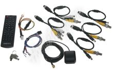 dvrb4c-1 Černá skříňka pro záznam obrazu ze 4 kamer, GPS, 1x slot SD