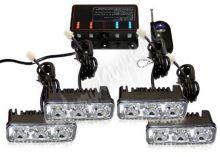 kf326W PREDATOR LED vnější bezdrátový, 12x LED 1W, 12V, oranžový