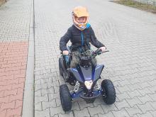 Dětská čtyřtaktní čtyřkolka ATV FactoryTeam 90ccm 4T - Modrá