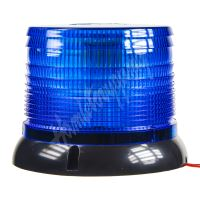 wl62fixblue LED maják, 12-24V, modrý, homologace