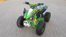 """Dětská čtyřtaktní čtyřkolka ATV Speedbird DELUX 125ccm zelená 3 rych. poloautomat 8"""" kola"""