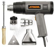 Pistole opalovací 230V 1000/1500W 375/495°C + příslušenství
