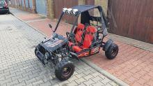 Dětská Buggy MiniRocket Zongshen 125ccm 3 rychlosti vpřed + zpátečka černá