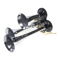 sn-013 3-tónová fanfára 295mm, chromová, bez kompresoru