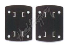 r1642 Man (sameček) 4-otvorová šroubovací redukční destička