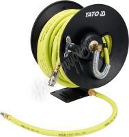 Naviják se vzduchovou hadicí PVC+NBR 9,5mm, 15m