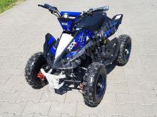 Dětská elektro čtyřkolka ATV Phyton Deluxe 800W 36Vmodrá