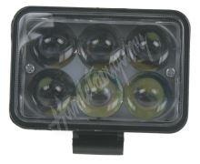 wl-318SL3d x LED světlo obdélníkové, 6x3W, 111x92mm