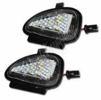 LEDdvw08 LED osvětlení do zrcátka Volkswagen  Golf VI