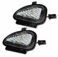 LEDdvw08 LED osvětlení do zrcátka Volkswagen Passat 2011-, Golf VI