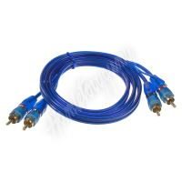 xs-2110 RCA audio kabel BLUE BASIC line, 1m