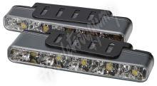 sj-296 LED světla pro denní svícení, 160x25mm, ECE