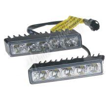 drltop100 LED světla pro denní svícení, 100x24mm, ECE