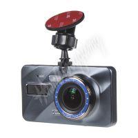 """dvrb02 DUAL FULL HD kamera + 4"""" IPS LCD, GPS, LDW, FCWS, české menu"""