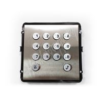 Dahua VTO2000A-K nerezová klávesnice