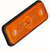 kf661Eora Boční obrysové LED světlo, 12-24V, oranžové, obdélník, homologace