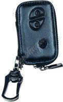 483LX101 x Kožený obal se zipem černý pro klíč Lexus