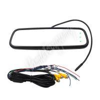 """ds-736OEMset AHD set LCD monitor 7,36"""" v zrcátku pro OEM montáž + AHD kamera 150°"""