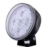 wld510E LED světlo kulaté, 5x10W, o150mm, R7/R112