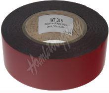 wt315 Oboustranná lepící páska černá, 50mmx10m