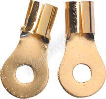 n-36 GOLD kabelové očko M8 pro kabel 20mm, 10 ks
