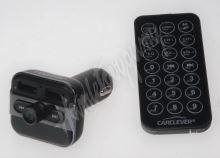 80559 Bluetooth/MP3/FM modulátor bezdrátový s USB/SD portem do CL s dálkovým ovladačem