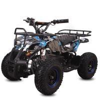 Dětská elektro čtyřkolka ATV Torino 1000W 48V Graffiti Modrá