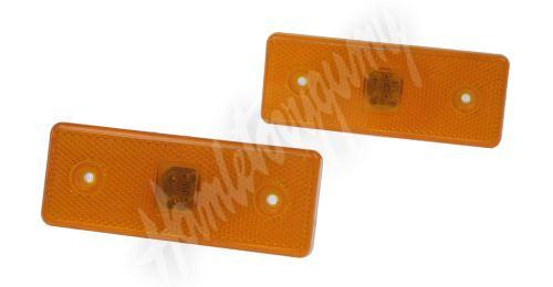 kf660 Boční obrysové světlo LED, oranžové 12V