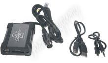 55usbvl001 Connects2 - ovládání USB zařízení OEM rádiem Volvo HUxxx/AUX vstup