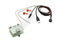 551FA1 USB+JACK konektor Fiat 500L, Ducato, 500X