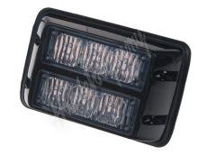 kf003dblu PREDATOR dual 6x1W LED, 12-24V, modrý, ECE R10