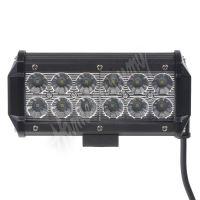 wl-822 LED světlo 10-30V, 12x3W, rozptýlený paprsek, 163x80x65mm