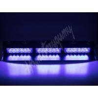 kf753blue PREDATOR LED vnitřní, 18x3W, 12-24V, modrý, 490mm, ECE R10
