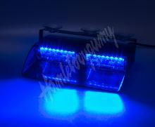 kf740blu PREDATOR LED vnitřní, 16x LED 3W, 12V, modrý
