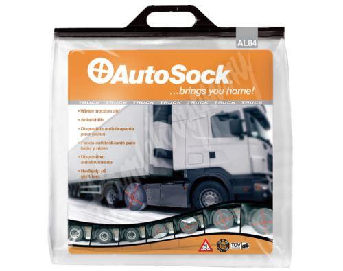Textilní sněhové řetězy AutoSock pro TRUCK nákladní vozy velikost: AL84