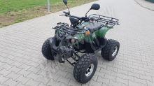 56155 Elektro čtyřkolka ATV s homologací 40 km/h. 1200W 72V/20Ah maskáč, tažné zařízení
