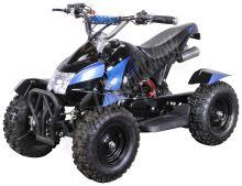 Dětská dvoutaktní čtyřkolka ATV Cobra 2 49ccm modrá + el. start