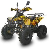 Dětská elektro čtyřkolka ATV Street Hummer XL 1000W 48V maskáč žlutý