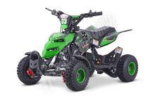 Dětská dvoutaktní čtyřkolka ATV Repti NitroM 49ccm E-start DO, zelená