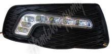 drlMC01/1 x LED světla pro denní svícení Mercedes C W204 2007-10, ECE