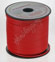 3100201 Kabel 1,5 mm, červený, 100 m bal