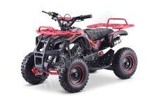 Dětská dvoutaktní čtyřkolka ATV MiniHummer Deluxe 49ccm červená