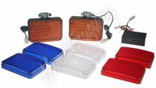 kf715 PREDATOR LED vnější, 12V, s kryty modrá, bílá, oranžová