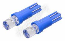 Žárovka 1LED 12V  T5  modrá  2ks
