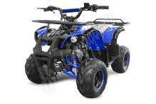 Dětská čtyřtaktní čtyřkolka ATV Hummer RS 125ccm modrá 1 rych. poloautomat 7