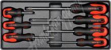 Vložka do zásuvky - šroubováky křížové 7ks