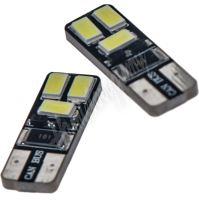 952008cb LED T10 bílá, 12V, 6LED/5730SMD