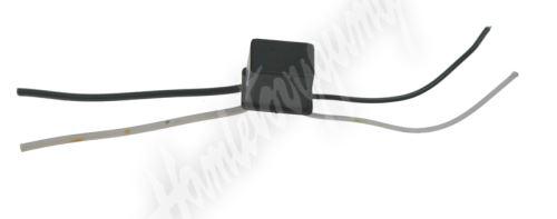 ledr-5wA Rezistor pro žárovku 12V/5W, 55 ohm, plastové pouzdro
