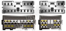 sot-084 Kabeláž pro HF PARROT/OEM VOLVO modely -2000